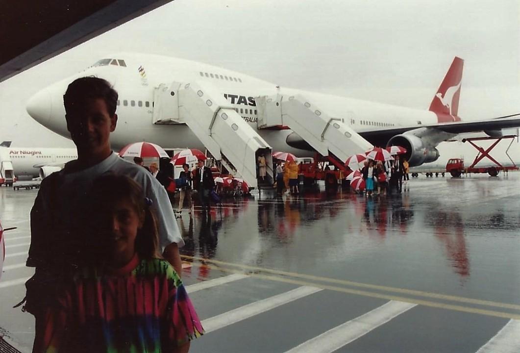 Arrival in Australia
