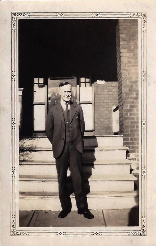 Fredrick T Higgins - my grandad