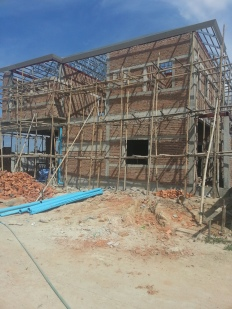 House construction phase 1