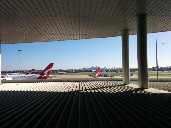 Our flight awaits