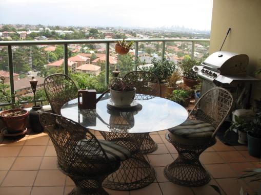 Relaxing balcony outlook