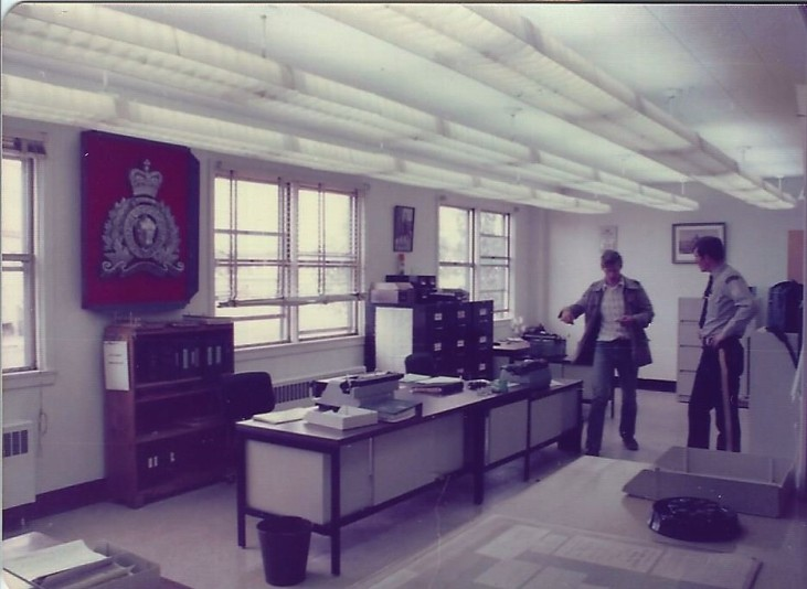 The Police office -