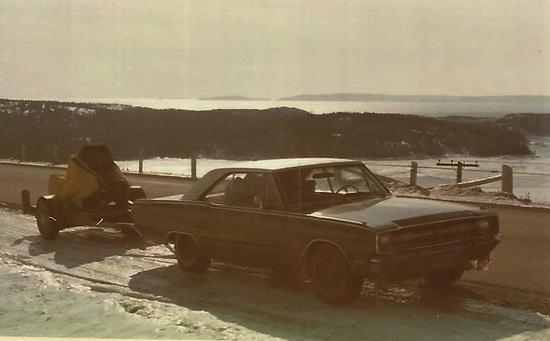 My first car & skidoo