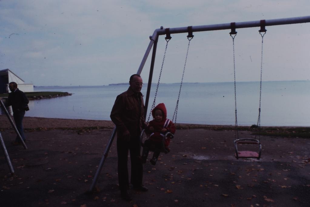 My dad with grandson Jason