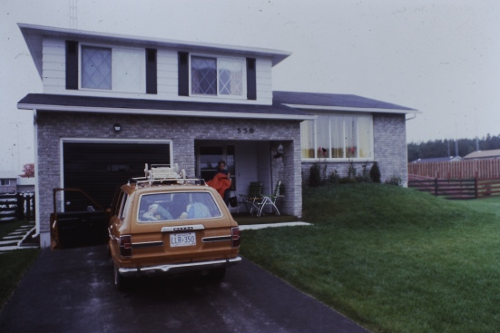 Our house & car in Shelburne