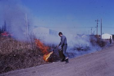 Back burning