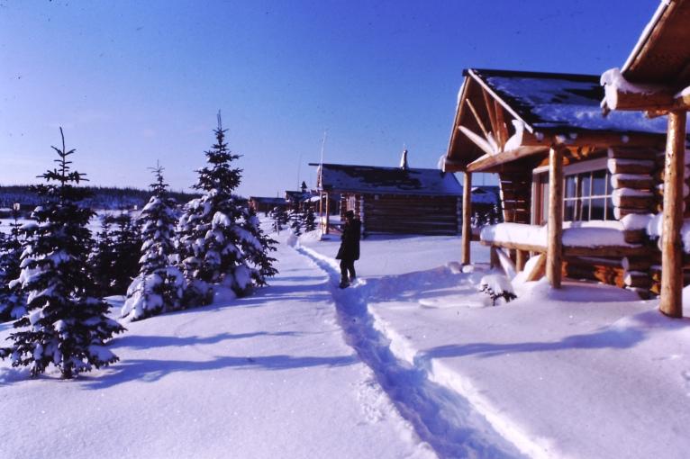 Log Cabin settlement