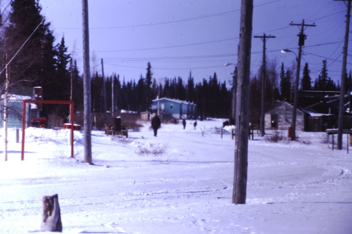 Winter time roads