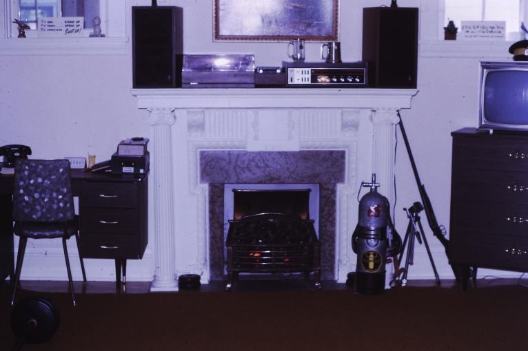 The original living room was my bedroom