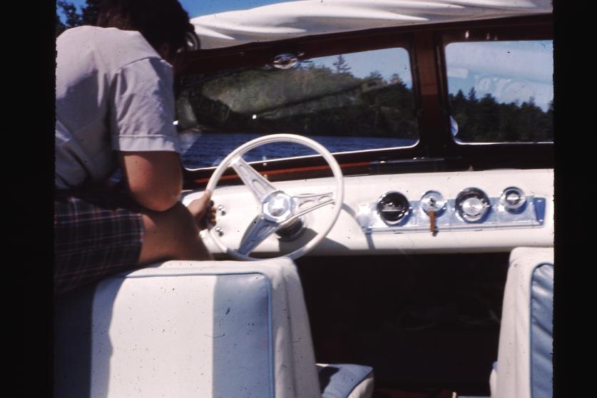 skipper me behind the wheel