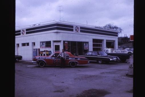 The stock car