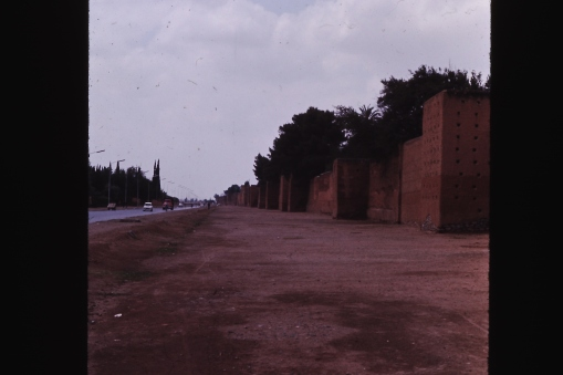 Old wall of city