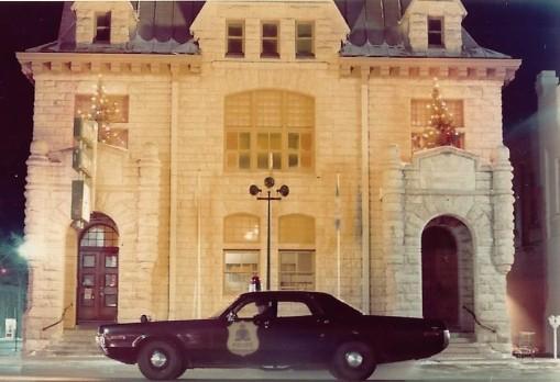 Me on city patrol - vintage car?