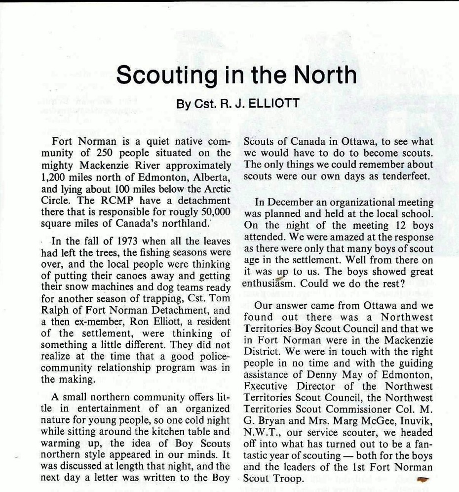 Scout article 1