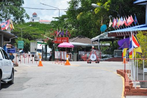Thai/Cambodian border