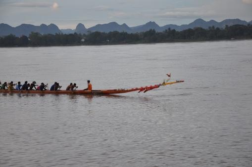 Dragon boat practise
