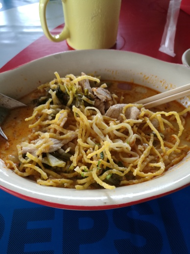Koi soy - curry noodle