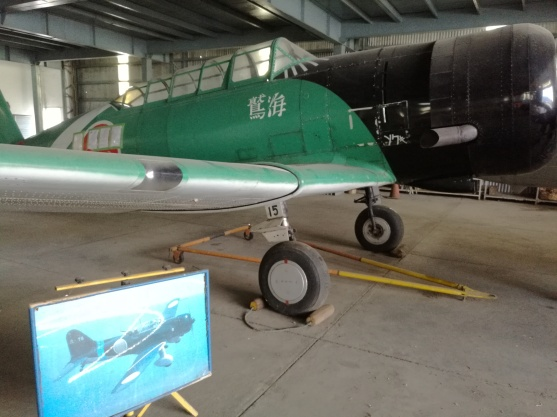 Replica Japanese plane used in Tora, Tora movie