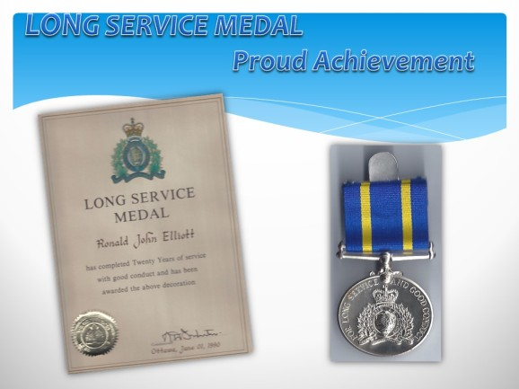 My Long Service Medal
