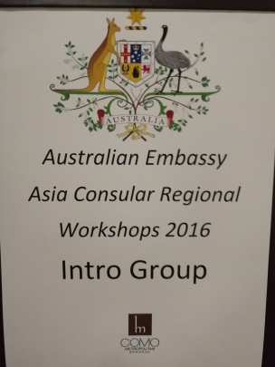 Consular Introduction Training