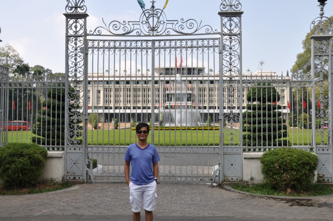 Infront of Palace