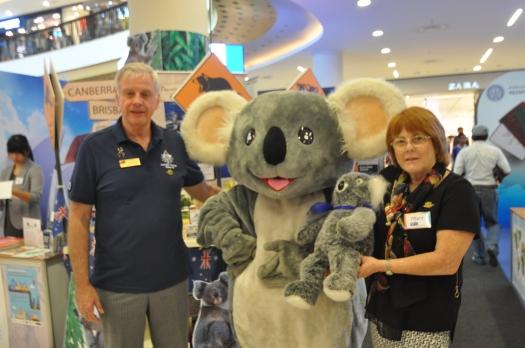 Mary & Koala