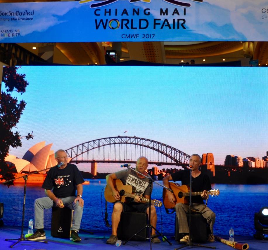 Aussie John, Tony & Lindsay