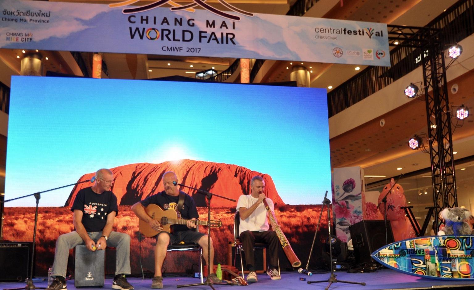 aussie tunes at Uluru