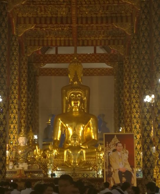 Buddha at the Wat