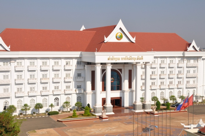 The Parliament Building of Laos, PDR