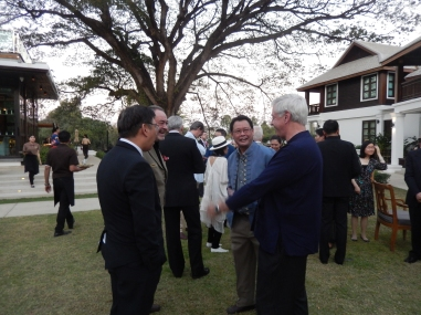 Consular Corps chats