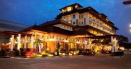 Night image of hotel