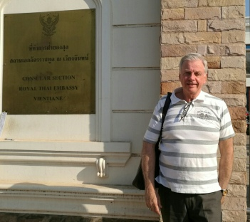 The Thai Embassy Vientiane