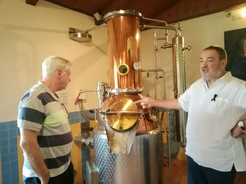 explaining distilling