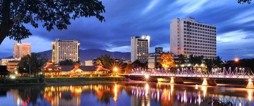 chiang mai city river views