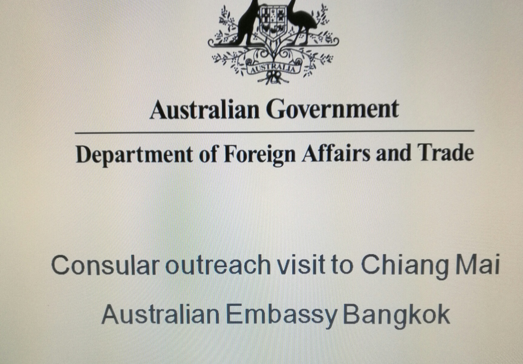 Australian embassy consular outreach program 2018 australian posted on april 7 2018 april 7 2018 by australian honorary consul chiangmai tranquil in thailand falaconquin