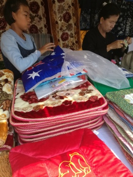 Aussie pillow flags