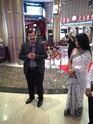 Indian Consul Shirish welcome