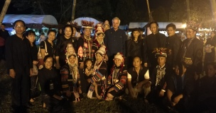Visiting Hilltribe participants