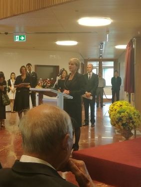 Foreign Minister Opening
