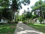 one of the village areas