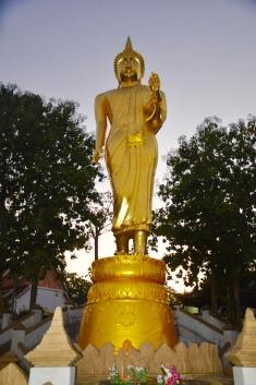 Buddha watches over Nan