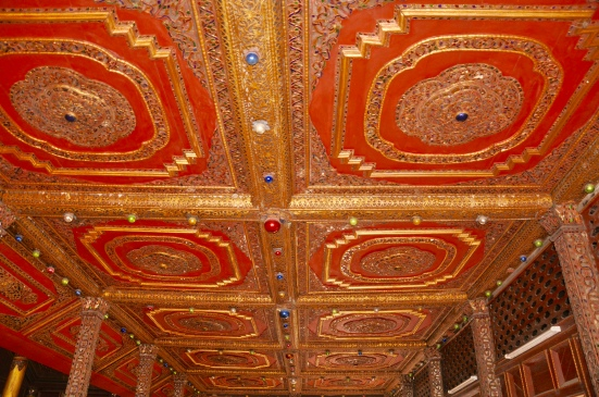 ornate tin ceiling