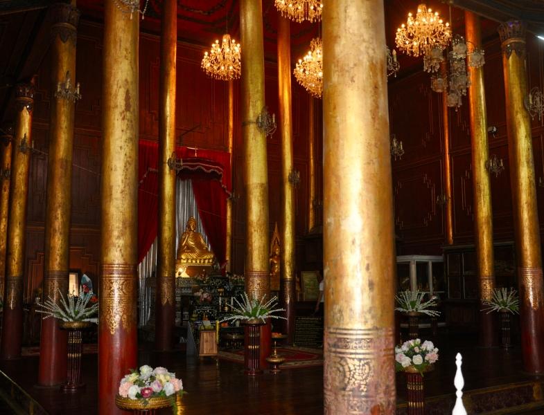 old teak temple