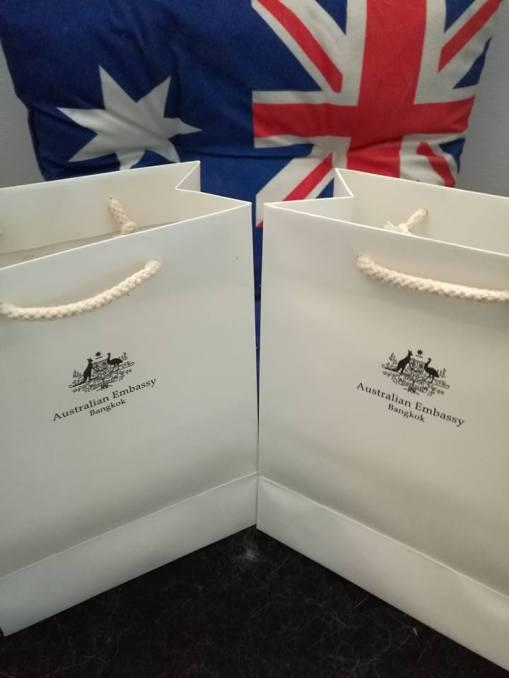 Aus Consulate Gift