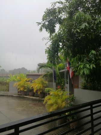 the rainy season was intense