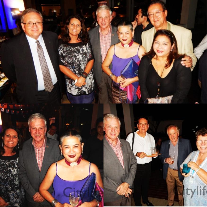 Ambassador, Hon Con & Guests