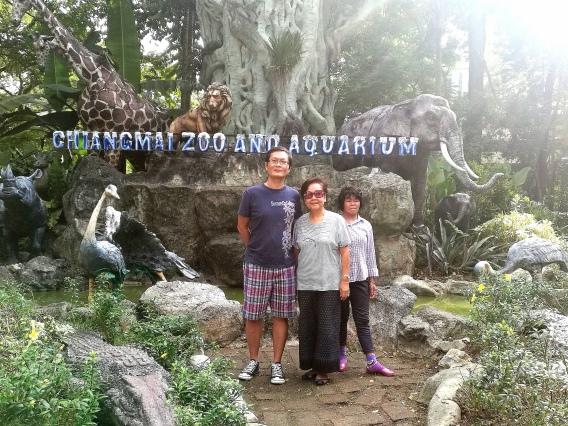 The zoo entrance