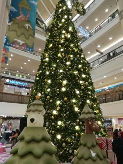 Decorated Mall