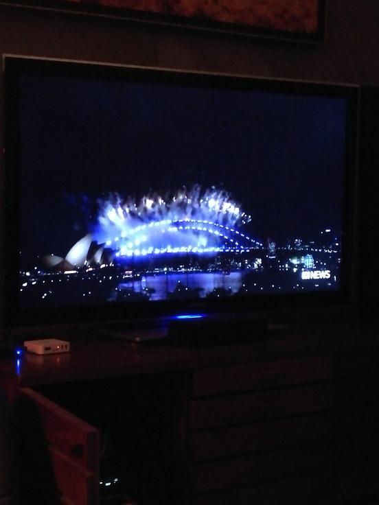 Happy New Year Sydney on TV